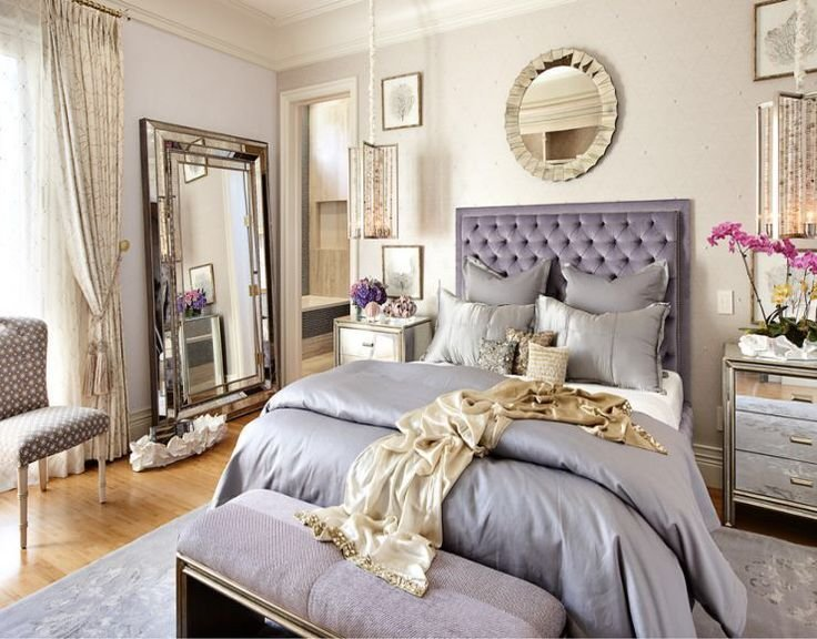 Best Silver Purple And Gold Bedroom Bedrooms In 2019 Gold With Pictures