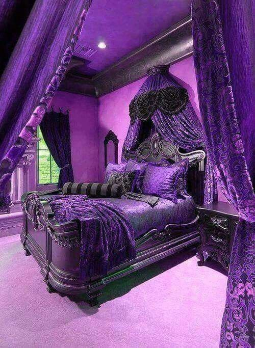 Best 25 Dark Purple Bedrooms Ideas On Pinterest Purple With Pictures