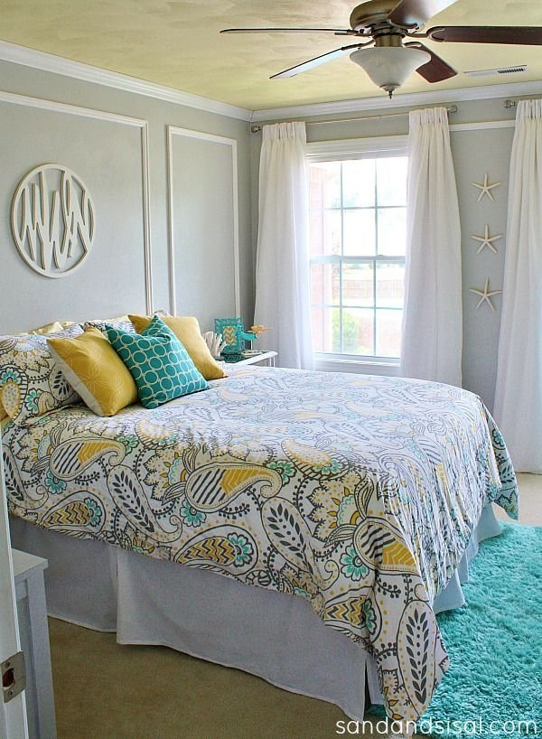 Best 25 Gray Turquoise Bedrooms Ideas On Pinterest With Pictures
