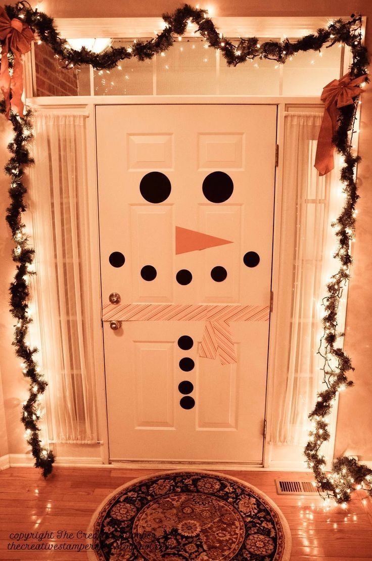Best 25 Christmas Door Decorations Ideas On Pinterest With Pictures