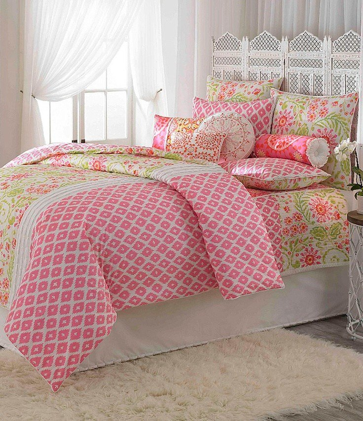 Best Dena Home Ikat Blossom Bedding Collection Dillards Com With Pictures