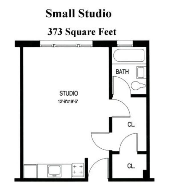 Best Small Studio Apartment Floor Plans Floor Plans From With Pictures