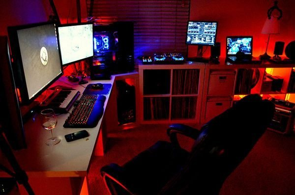 Best Gamer Bedroom Ideas Gallery Of 20 Cool Computer With Pictures