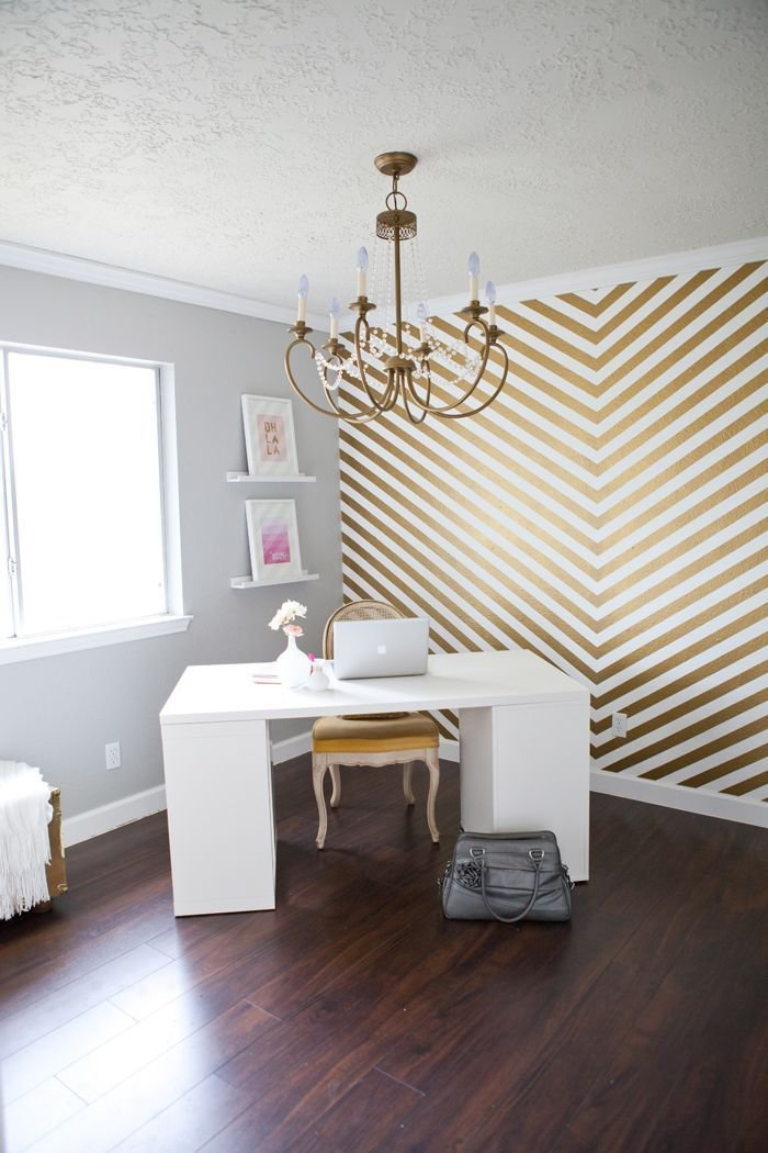 Best 25 Gold Striped Walls Ideas On Pinterest T**N Bed With Pictures