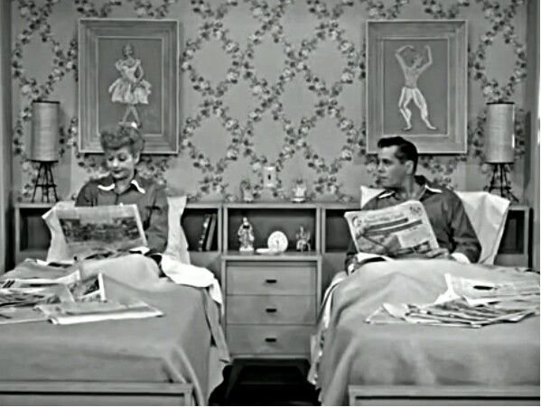 Best Lucille Ball I Love Lucy Bedroom 50S This Concludes With Pictures