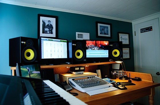 Best Bedroom Digi003 Studio Setup Recording Studios In 2019 With Pictures