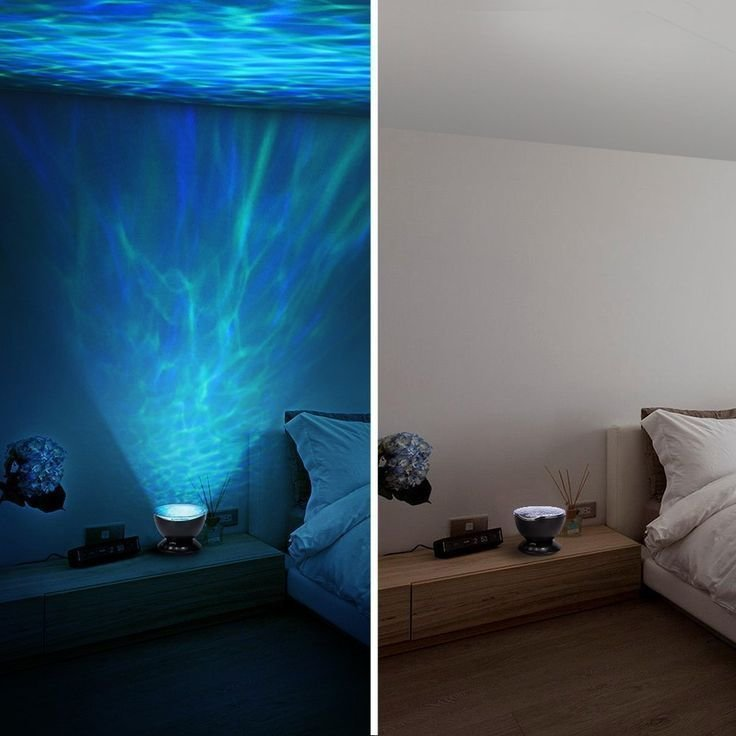 Best Led Ocean Wave Projector Night Light With 7 Colors Light With Pictures