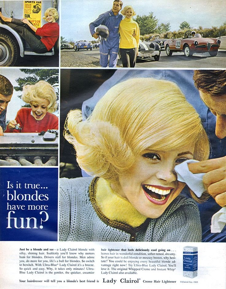 Free Lady Clairol 1963 Clairol In 2019 Vintage Beauty Wallpaper