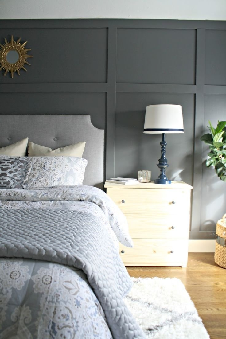 Best 25 Wall Behind Bed Ideas On Pinterest Grey Bedroom With Pictures