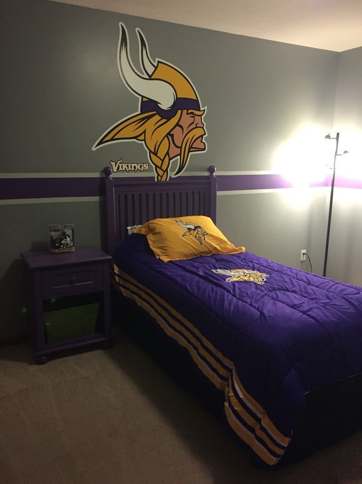 Best 35 Best My Vikings Room Ideas Images On Pinterest With Pictures
