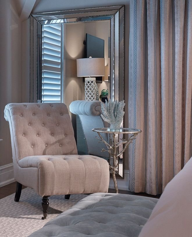 Best In A Corner Of The Master Bedroom A Shingle Chair And Small Side Table Adds Comfort To The With Pictures