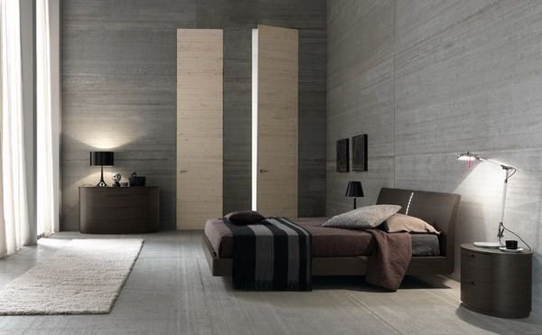 Best Brown Grey Color Scheme Modern Bedroom Design Grey Tile With Pictures