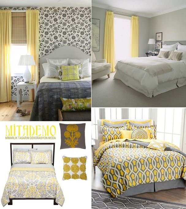 Best 25 Gray Yellow Bedrooms Ideas On Pinterest Yellow With Pictures