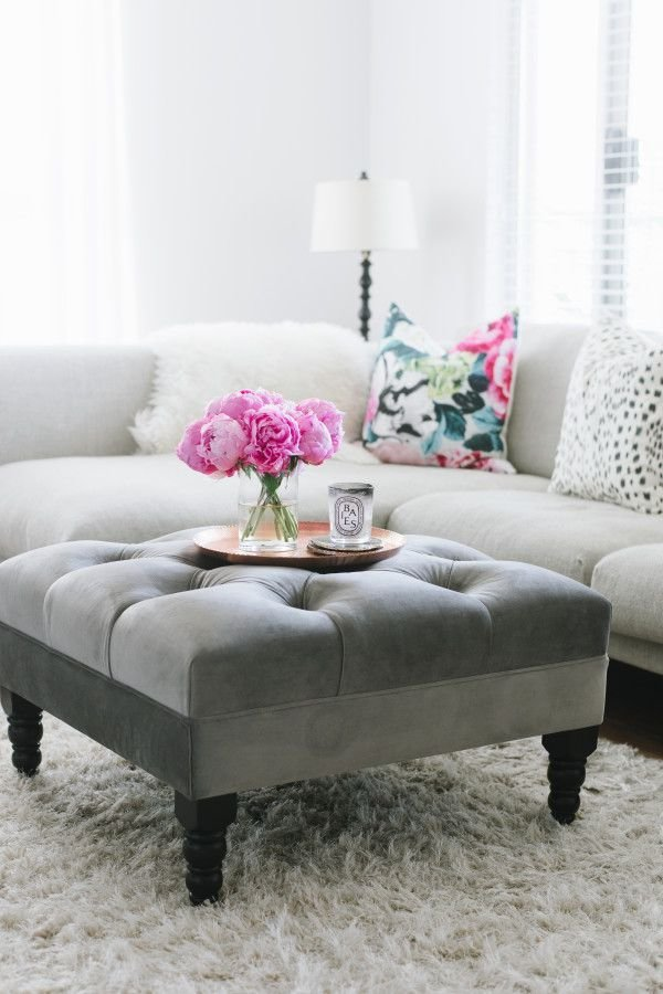 Best 25 Tufted Ottoman Coffee Table Ideas On Pinterest With Pictures