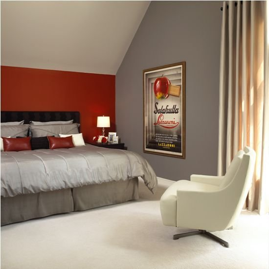 Best The 25 Best Grey Red Bedrooms Ideas On Pinterest Red With Pictures