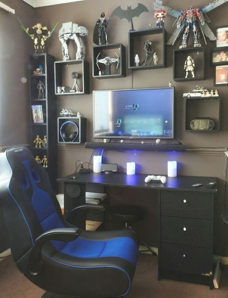 Best 25 Gamer Room Ideas On Pinterest Gamer Bedroom With Pictures