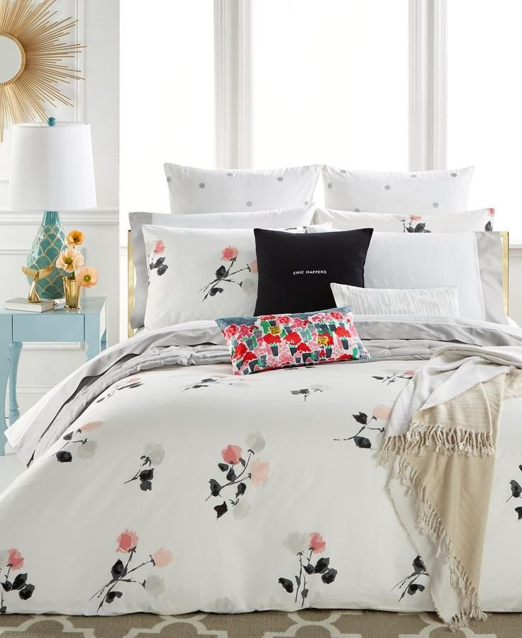 Best Kate Sp*D* New York Willow Court Blush Full Queen Duvet With Pictures
