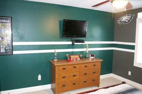 Best Phi Eagles Theme Idea For Matt S Cave Madison S Room With Pictures