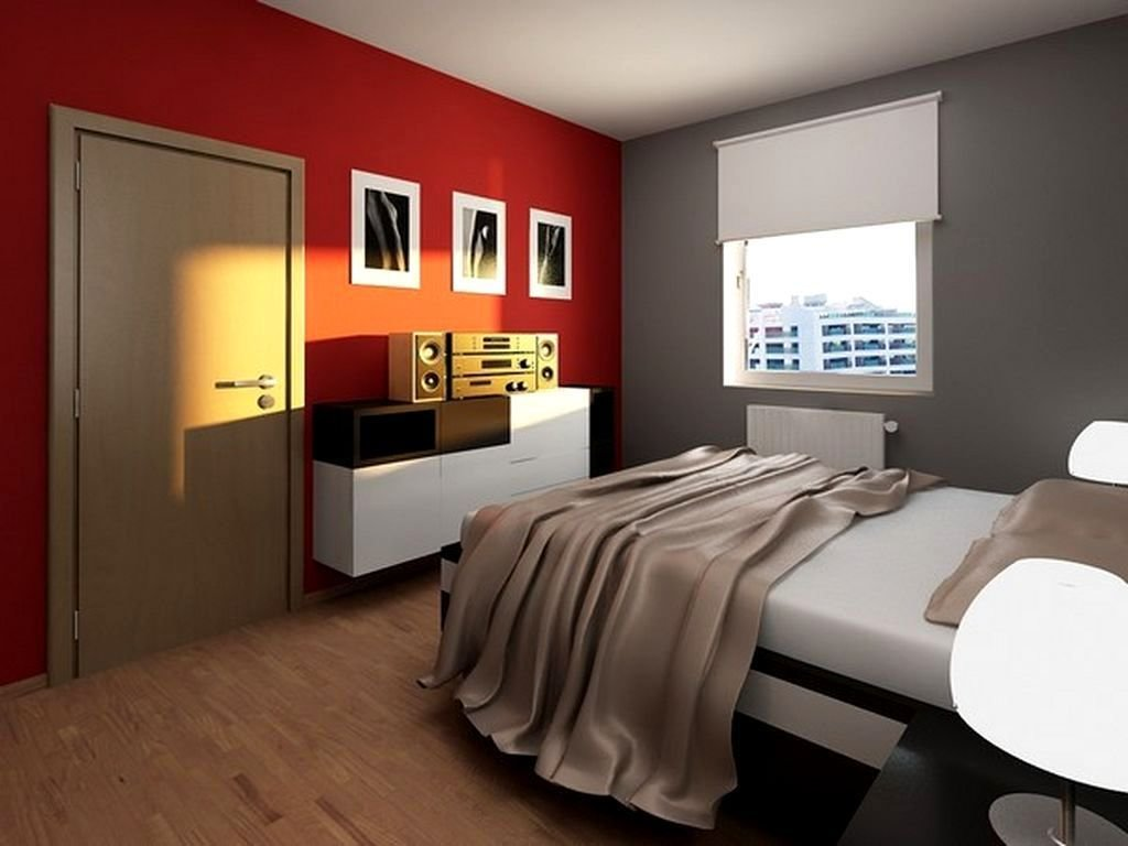 Best Teens Room Awesome T**N Boy Room Ideas Red Gray Wall Paint With Pictures