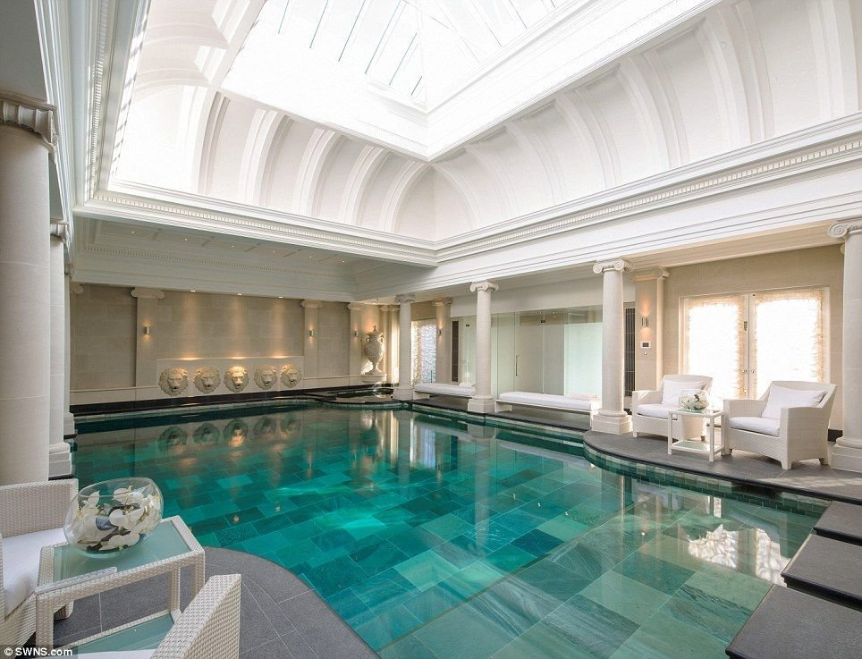 Best Sprawling London Eight Bedroom Mansion With Palatial Gym With Pictures
