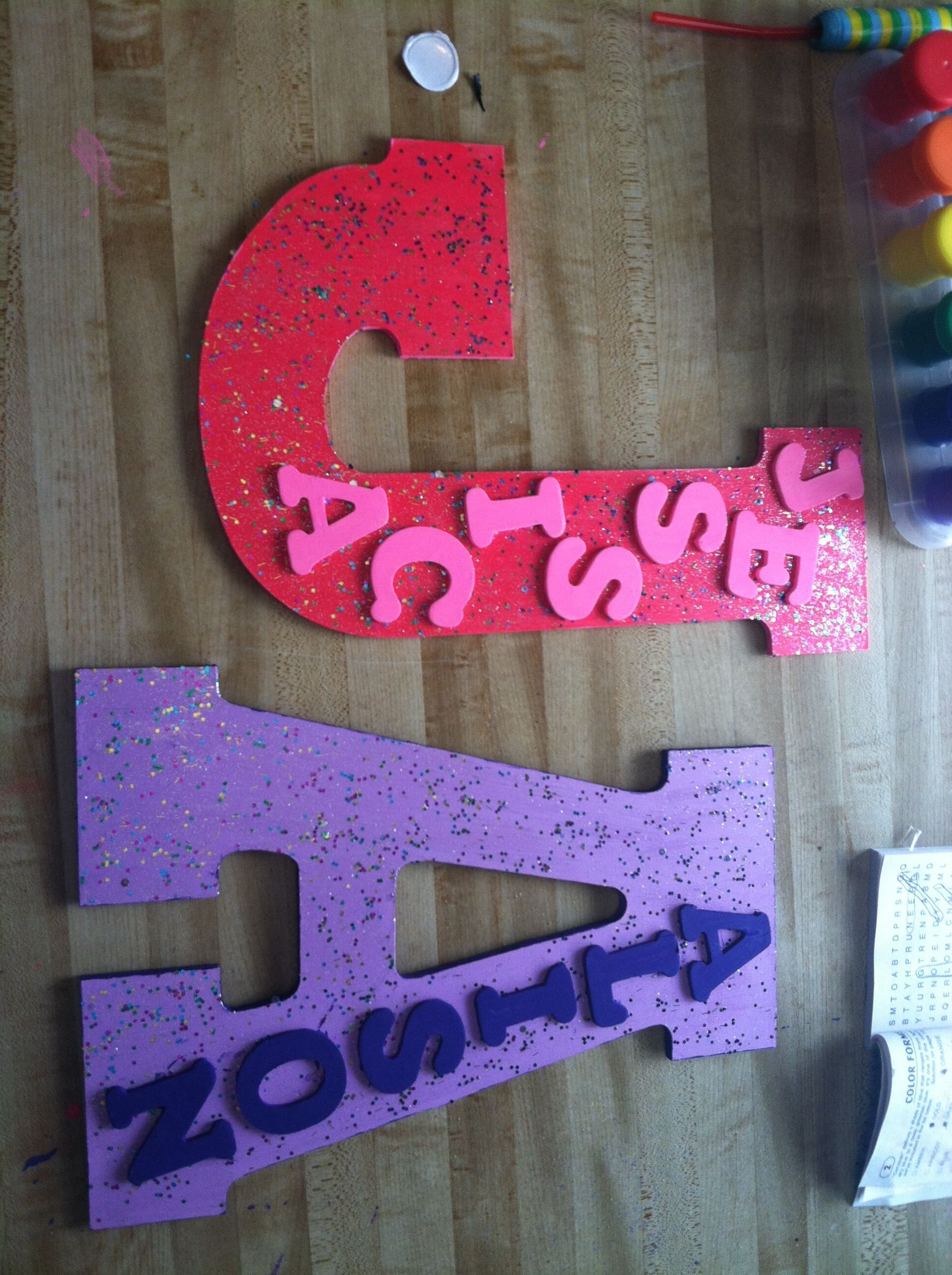 Best Diy Name Plates Great For Bedroom Doors Craft Ideas With Pictures