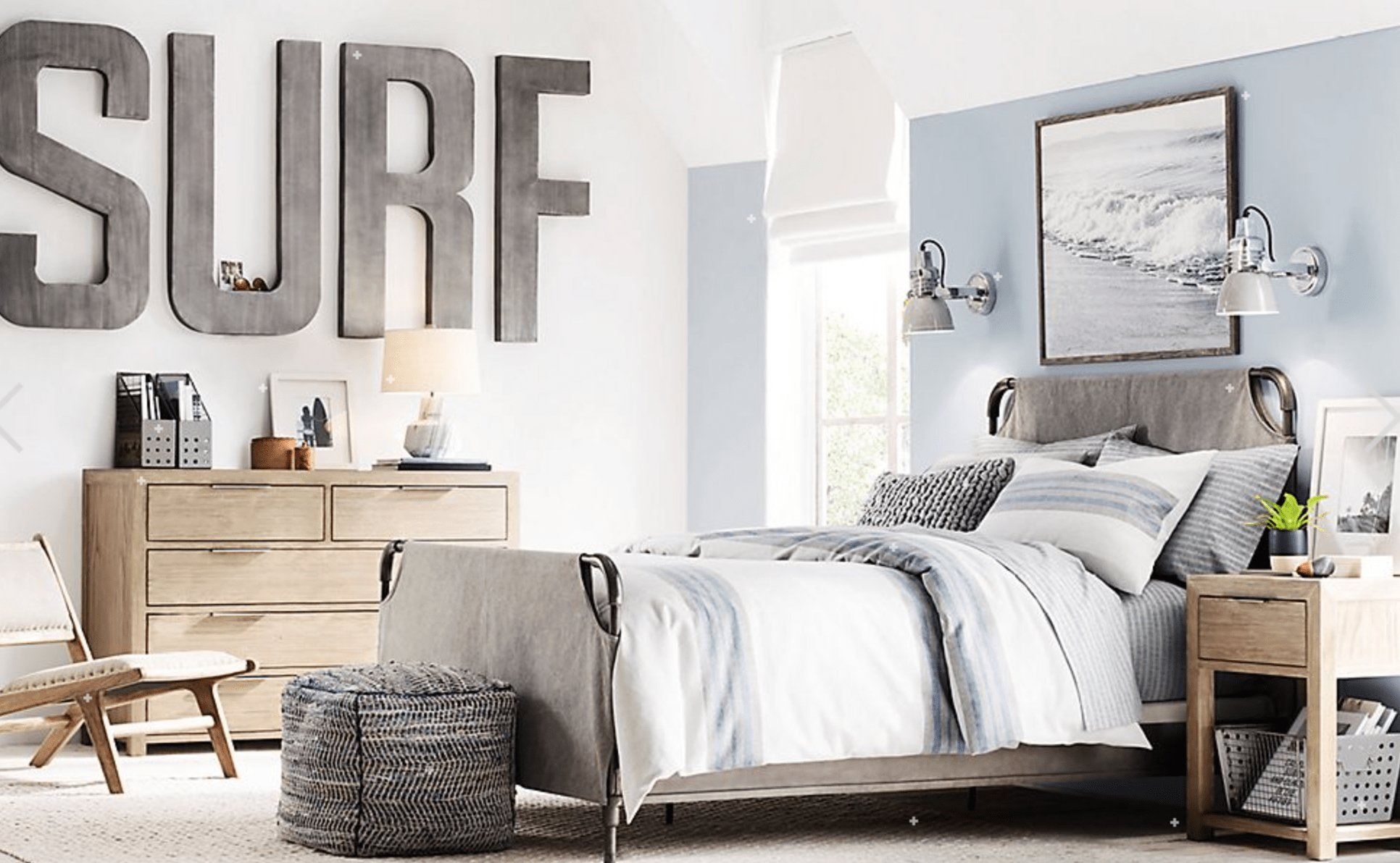 Best T**N Boy S Surf And Beach Bedroom Jace S Bedroom Surf With Pictures