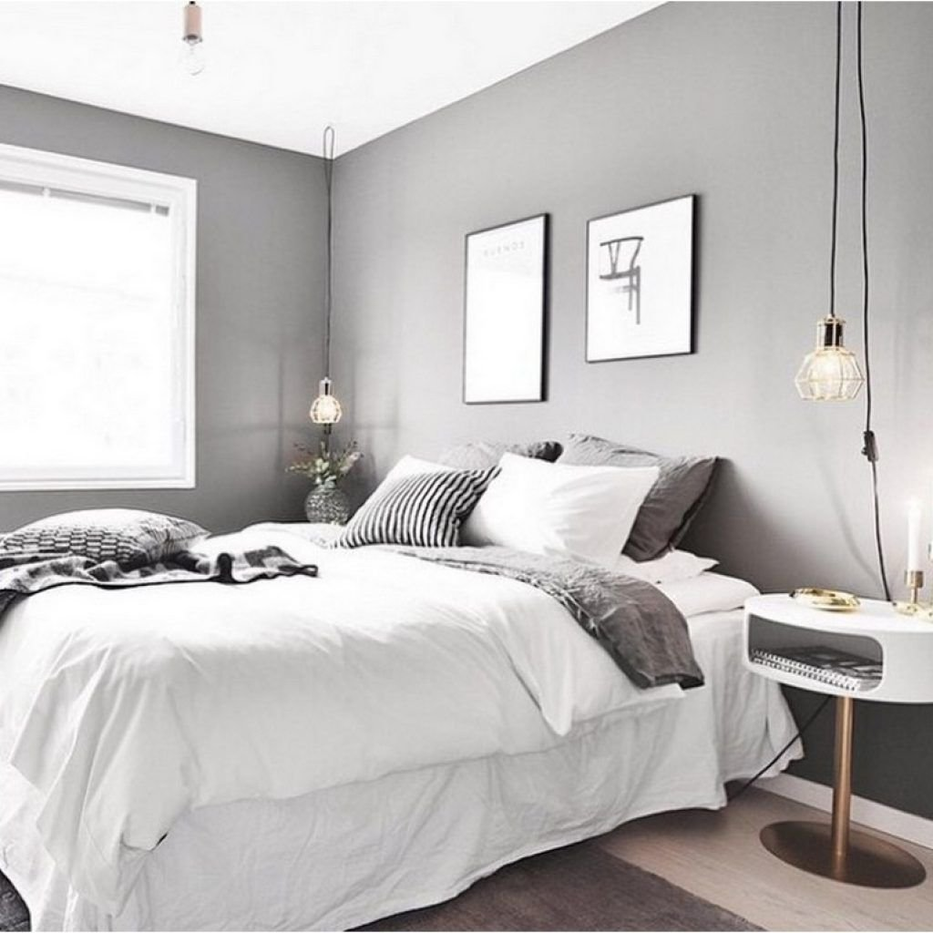 Best 99 White And Grey Master Bedroom Interior Design Home With Pictures