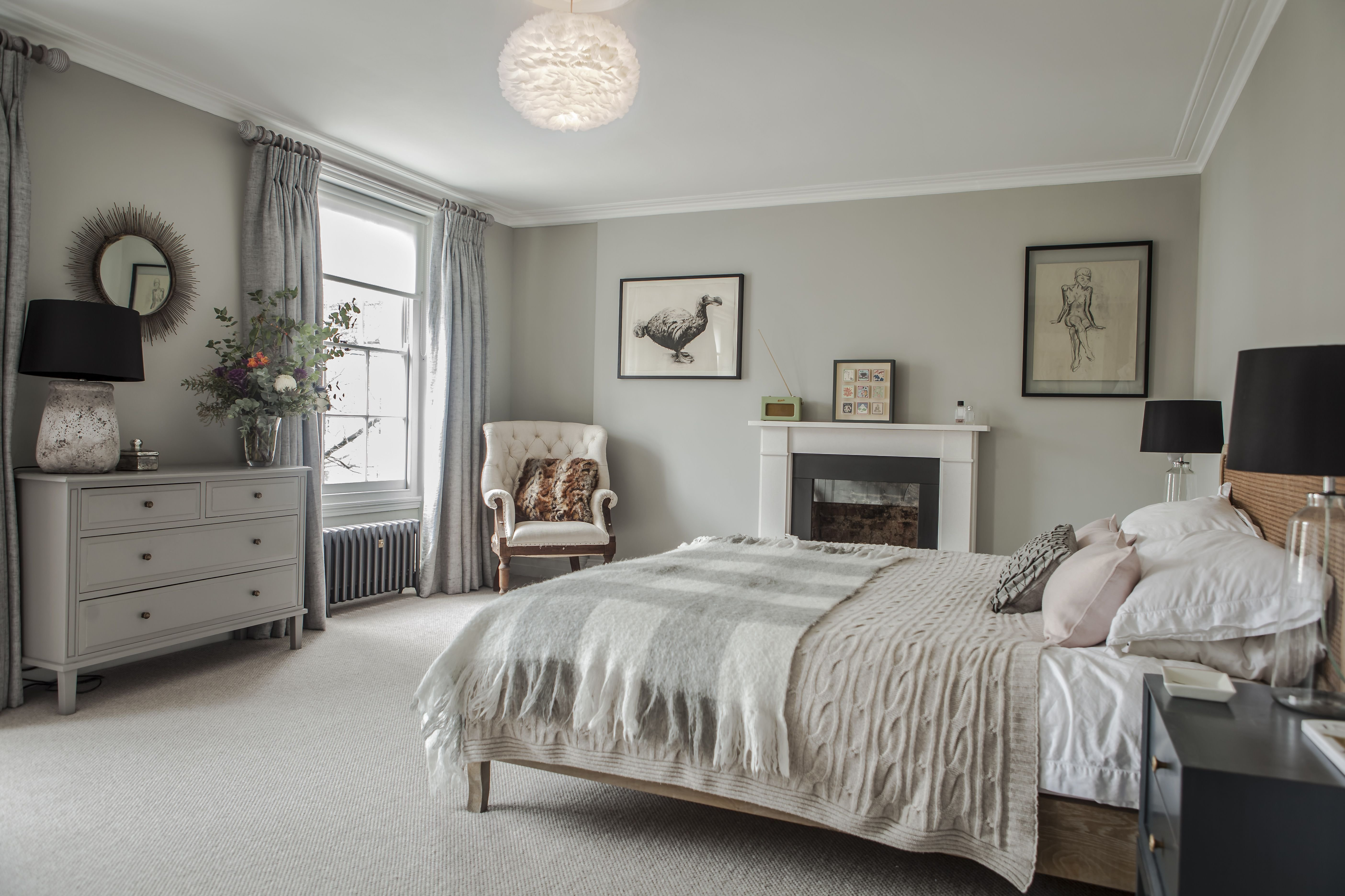 Best Soft Grey Bedroom Beautiful Homes Master Bedroom With Pictures