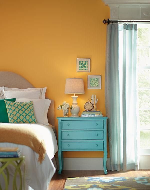 Best These Bedroom Walls Painted In Behr S Spiced Butternut With Pictures