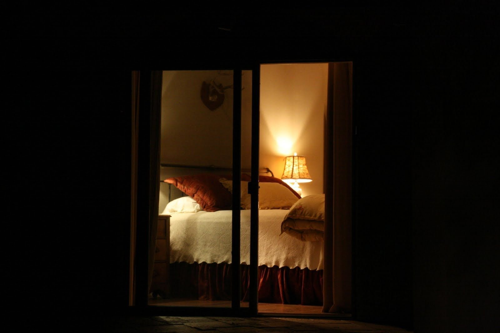 Best Looking Through Night Time Windows Into The Blogger S With Pictures