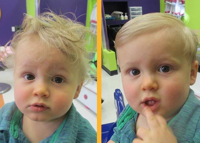 Free Baby Boy Haircut Before And After What A Cutieee Wallpaper