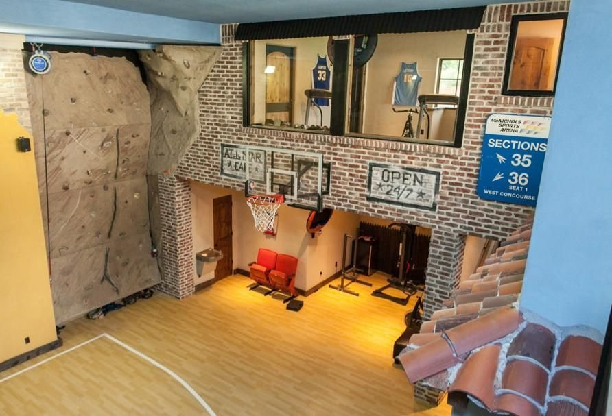 Best Playroom Amazing Indoor Basketball Court Kids Home With Pictures