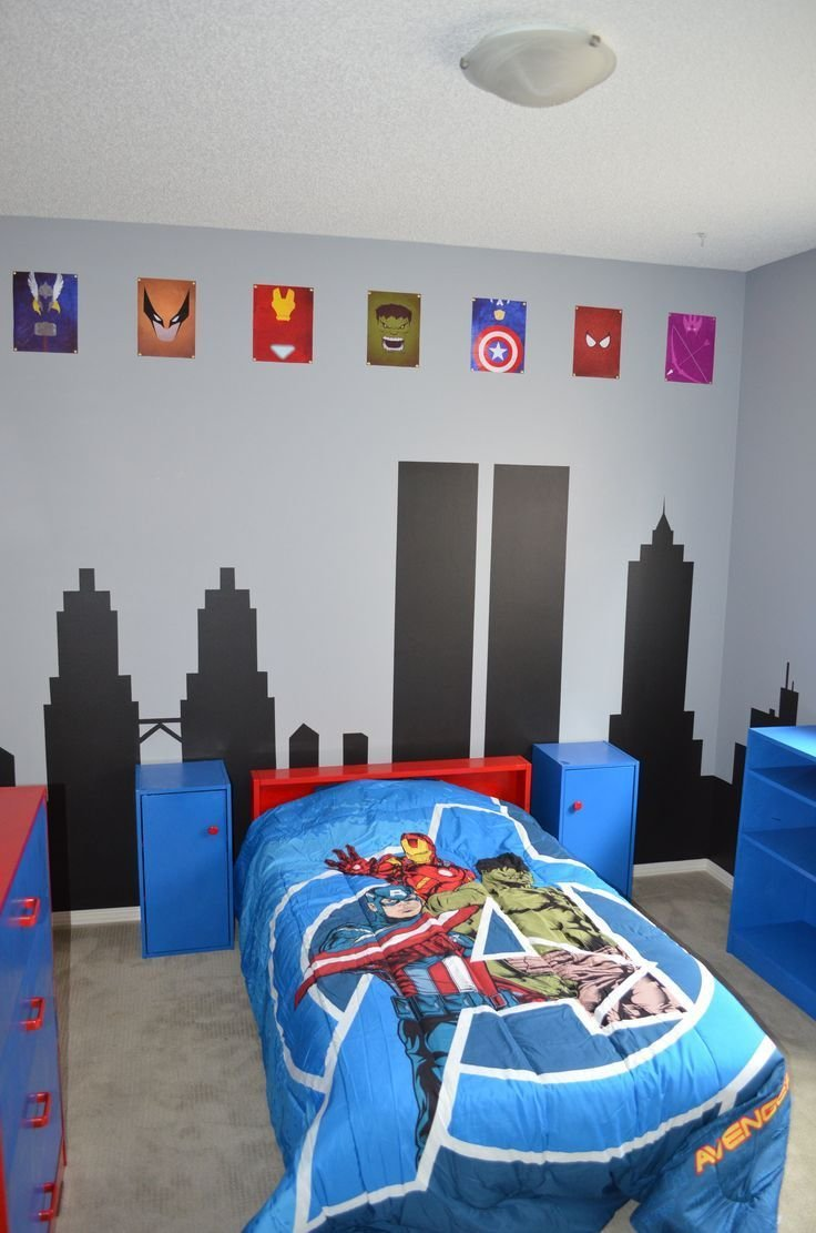 Best Avengers Room With Iron Man S Presence For Ourson S Room With Pictures