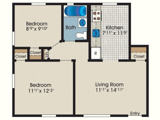 Best With 600 Square Feet Apartment Floor Plan In Addition 600 With Pictures