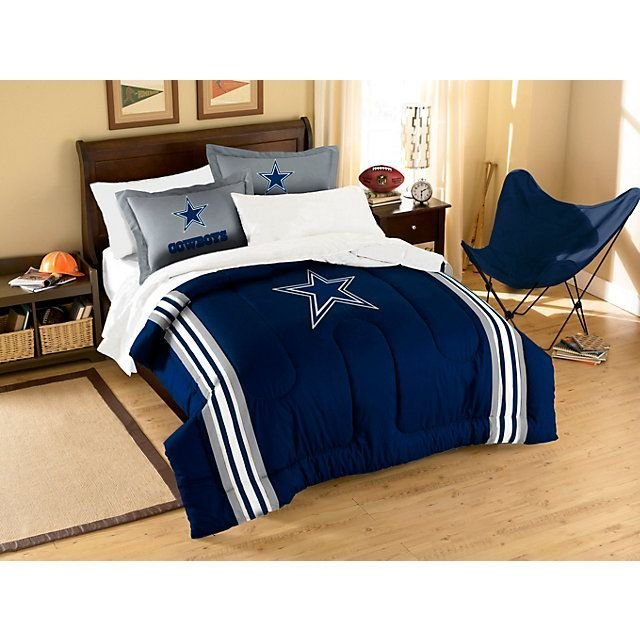Best Dallas Cowboys Applique Comforter Bedding Set Twin With Pictures