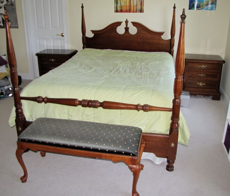 Best Modern Cherry Queen Anne Style Bedroom Furniture Including With Pictures