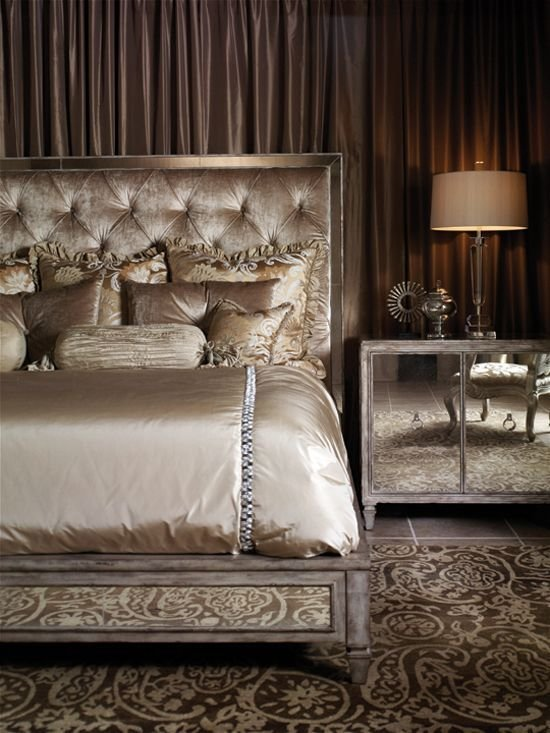 Best Old Hollywood Glamour Bedroom Ideas … Master Bedroom In With Pictures