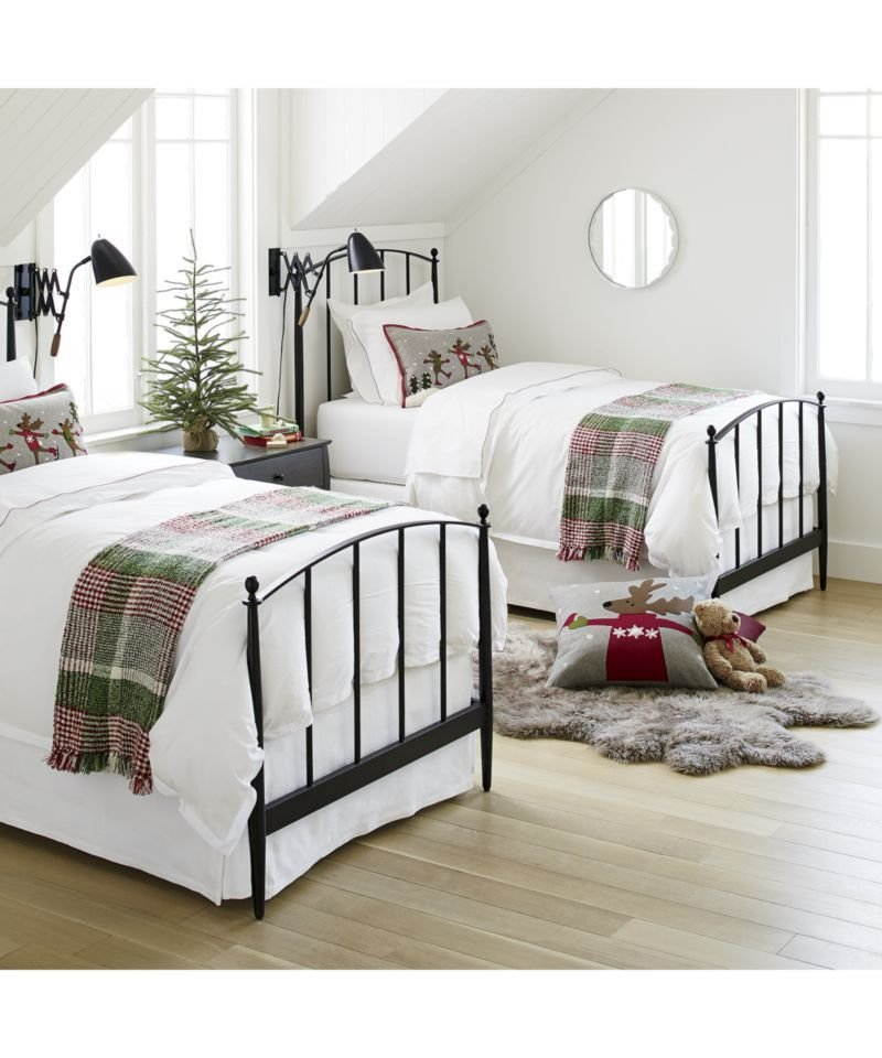 Best Mason Shadow Twin Bed Farmhouse Beachy Style Christmas With Pictures