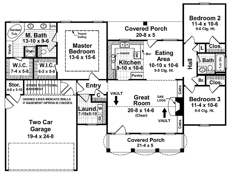 Best Split Bedroom Floor Plans 1600 Square Feet House Plans With Pictures