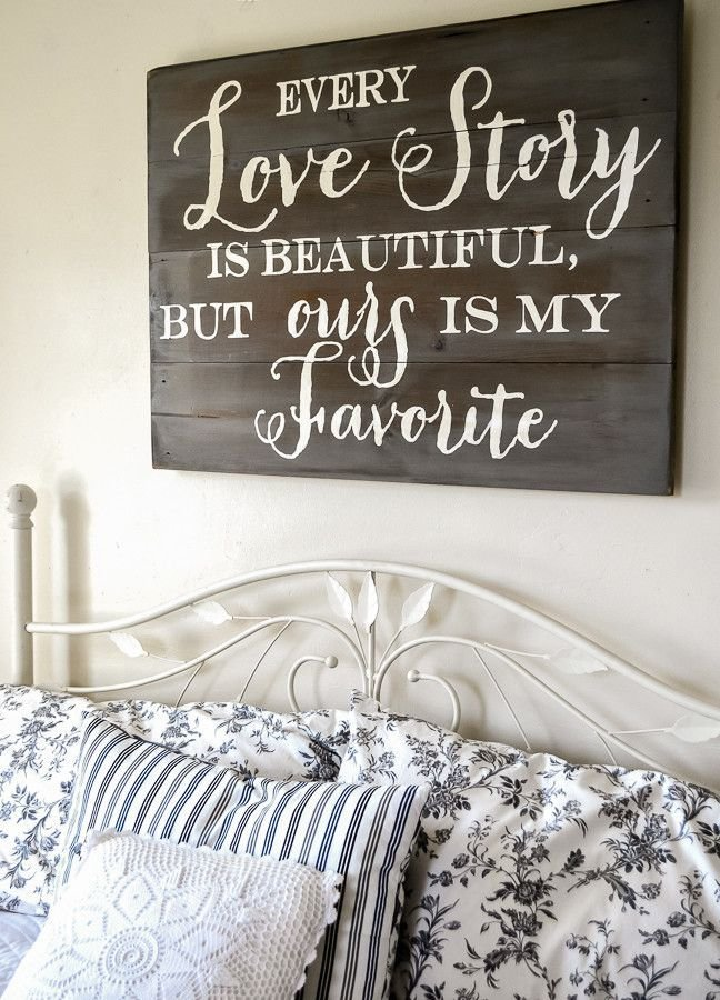 Best Love Story Sign Bedroom Ideas Home Decor Home Wood Signs With Pictures