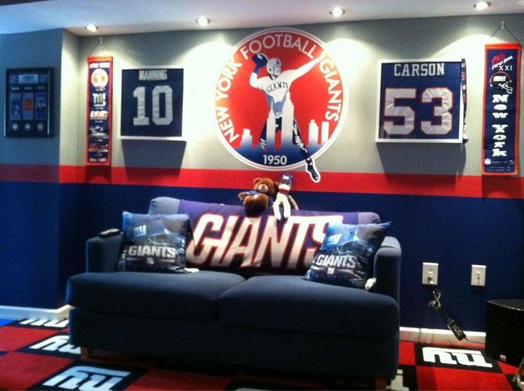 Best Giants Room I Think Yesss For The Home Ny With Pictures