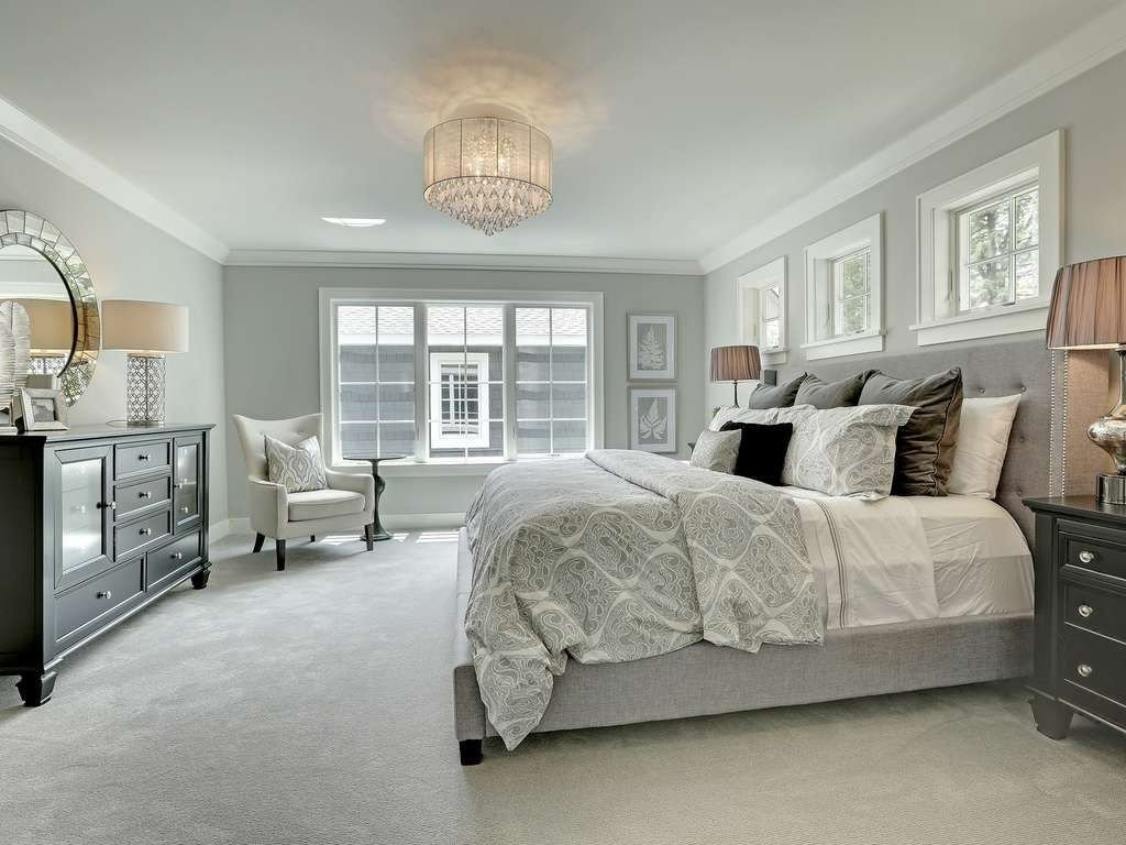Best Traditional Master Bedroom With Crown Molding Pella With Pictures