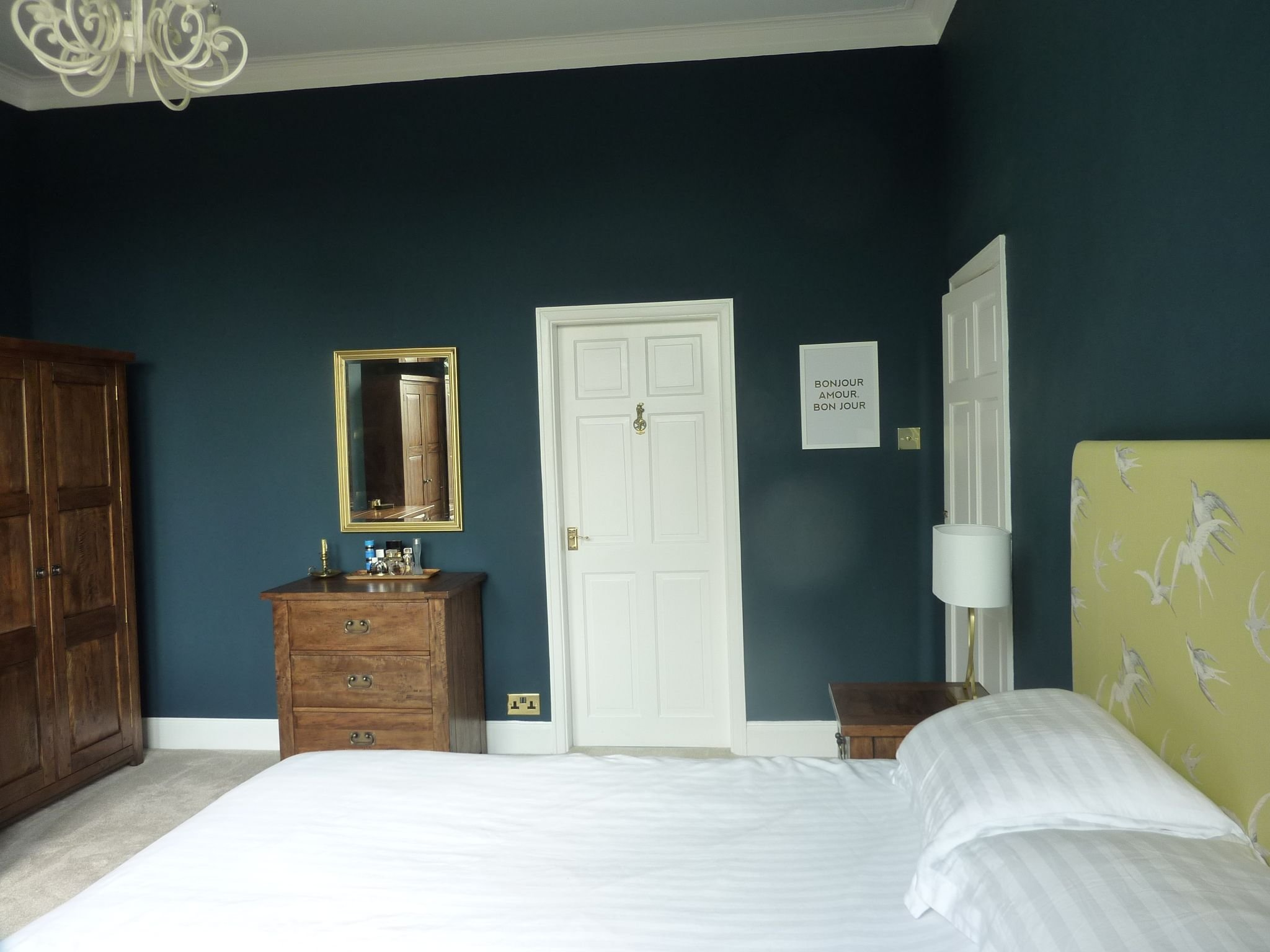 Best Farrow And Ball Hague Blue Bedroom Wall Color Blue Bedroom Hague Blue Bedroom Paint Colors With Pictures
