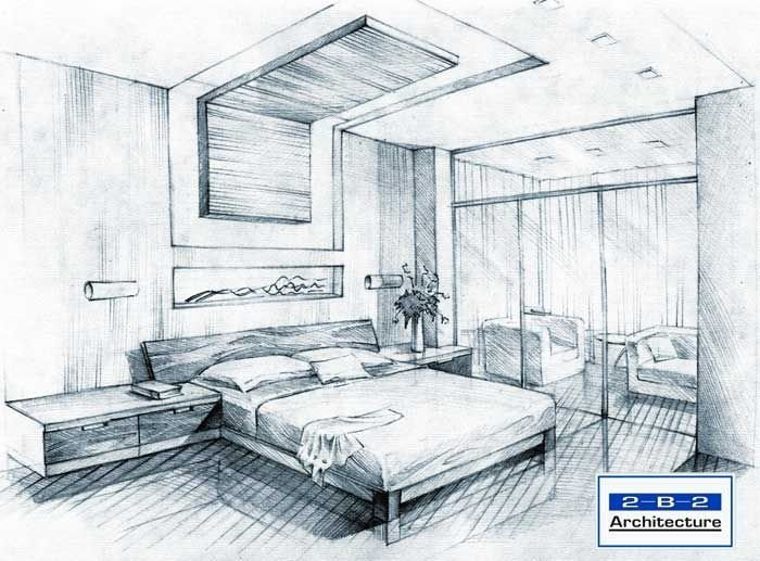 Best Simple Bedroom Sketch Design Sketches Bedroom Interior Design Interior Design Sketches With Pictures