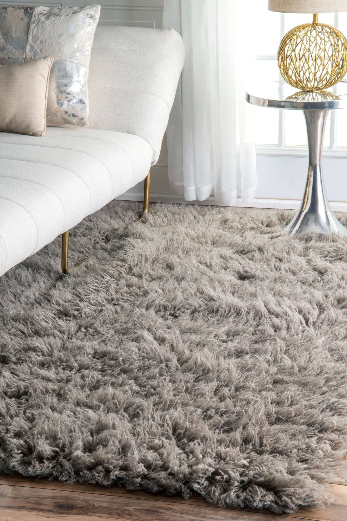 Best Rugs Usa Natural Greek Flokati Rug Shags Rectangle 2 X With Pictures