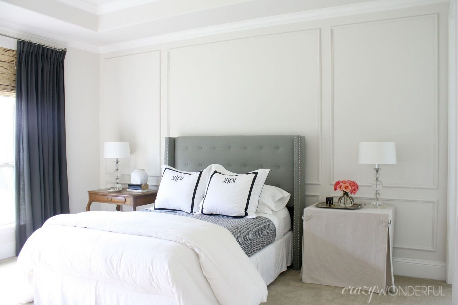Best Diy Picture Frame Moulding … Bedrooms In 2019… With Pictures