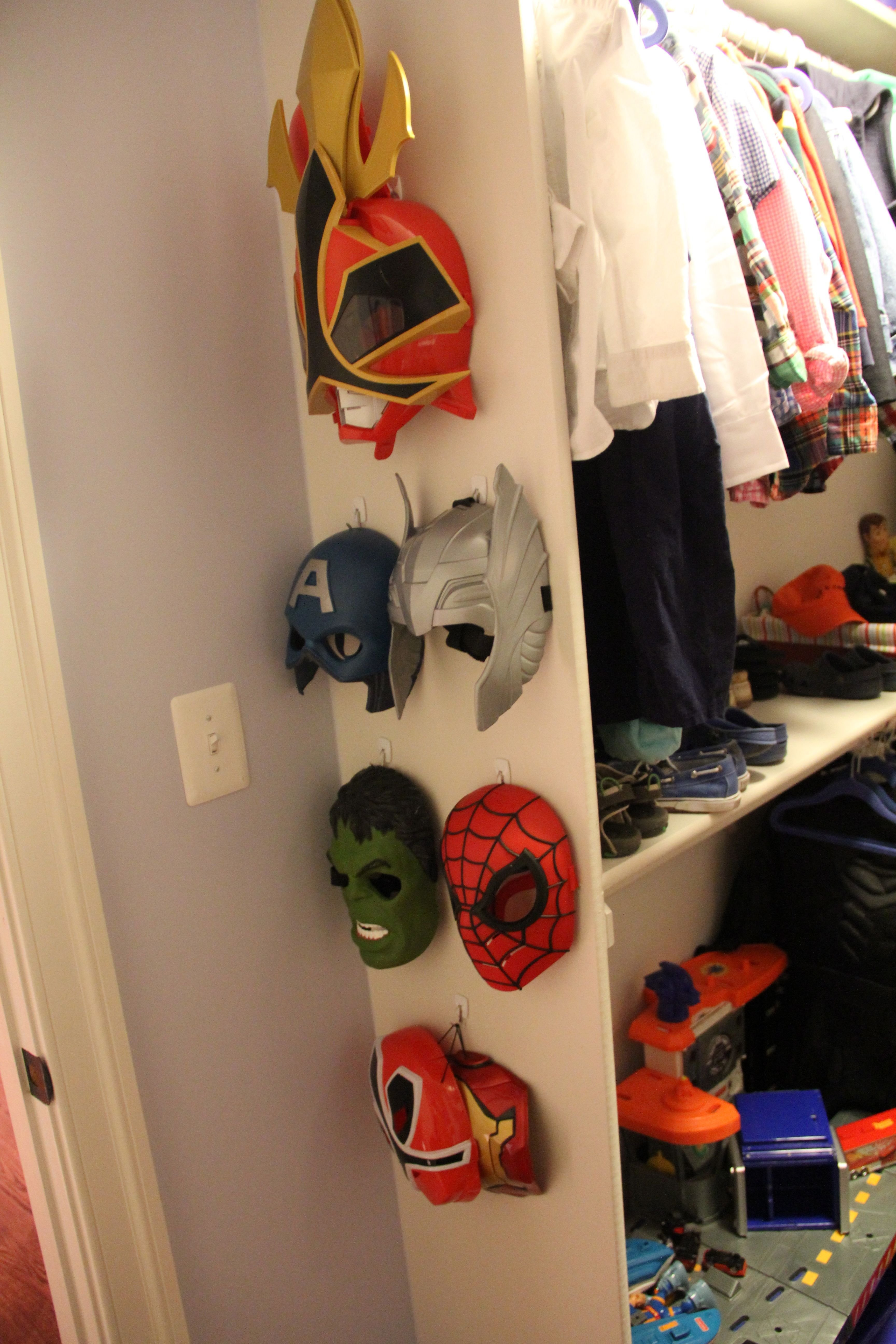 Best W S Big Boy Room Closet Includes All His Super Hero And With Pictures
