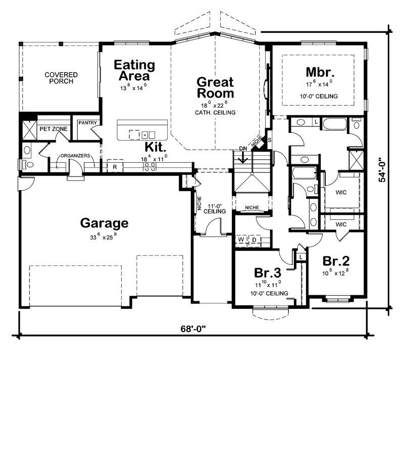 Best Probuild Home Plans Miramar 2319Sq Ft Best Plan With The With Pictures