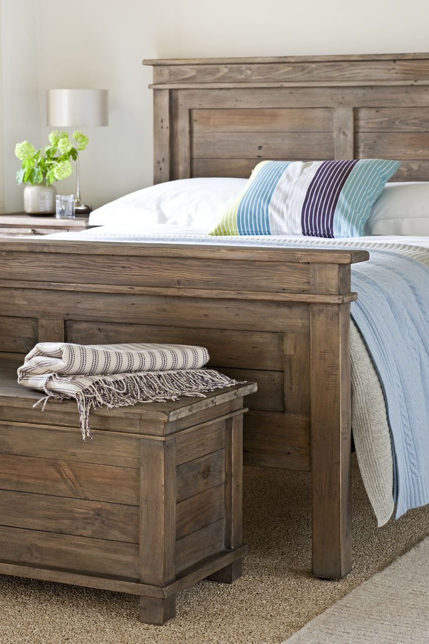 Best Sundried Extension Bedroom Set Reclaimed Pine Solid Wood With Pictures