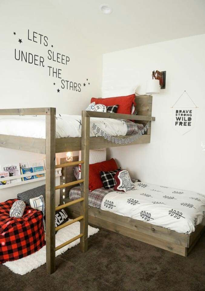 Best Perfect Idea For A Small Bedroom Kid Rooms Bunk Beds Bunk Bed Plans Kid Beds With Pictures